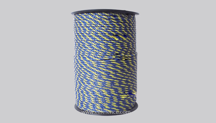 HIGH QUALITY 400M ELECTRIC FENCE POLY WIRE SUPER 6 STRAND